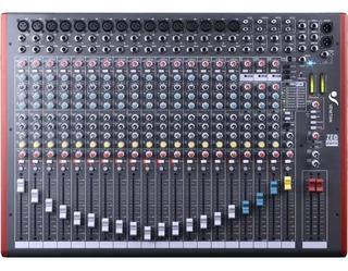 Consola Sonido 16 Canales Venetian Zed 22fx Efectos 22 F Cjf