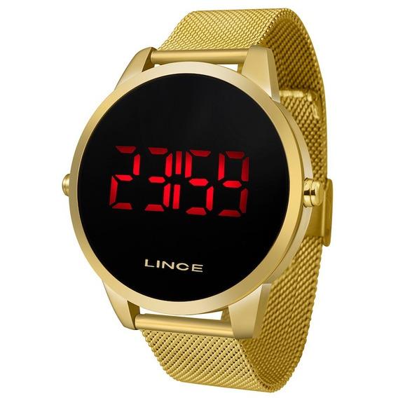 Relógio Lince Dourado Mdg4586l Pxkx C/ Nf-e