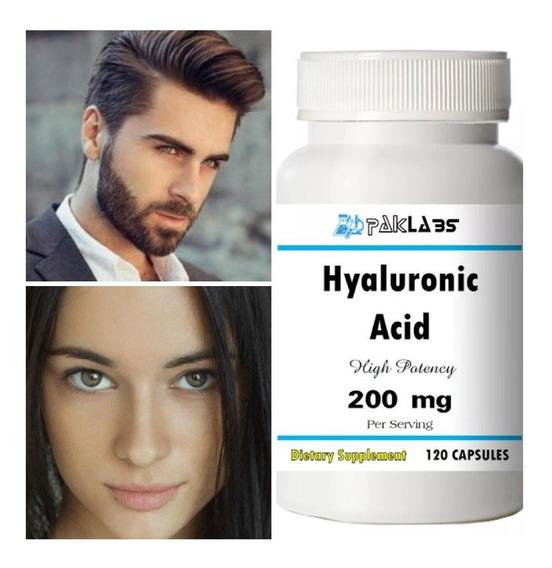 Acido Hialuronico 120 Cápsulas De Alta Potencia