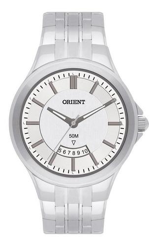 Imagem 1 de 1 de Relógio Orient Masculino Mbss1118a S1sx Clássico Prateado