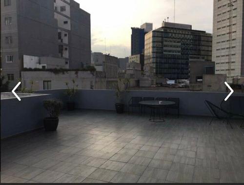 Imagen 1 de 14 de Renta Departamento Con Roof Garden Juárez Apa_2105 Oa