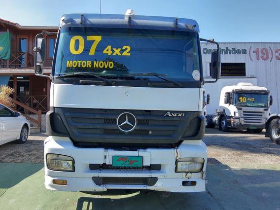 Mercedes Benz Mb 1933 Cabina Leito 2007 Scania Volvo Vw
