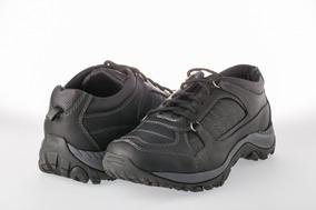 Calzado Deportivo Cuero Liviano - Negro - Miel