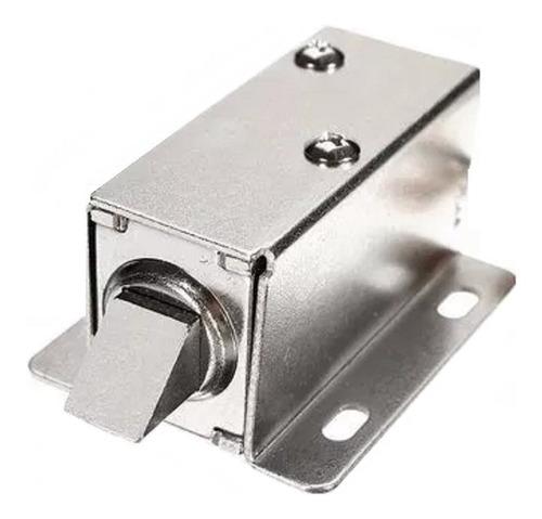 Cerradura Electrica Mini 12v. Cc. Induccion Arrimar Pl-900