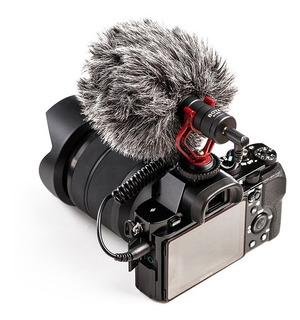 Microfono Boya By Mm1 Boom Dslr Celular
