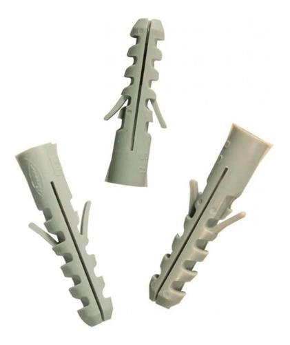 Imagen 1 de 9 de Tarugos De Nylon Fischer S6 X Caja De 100 Unidades