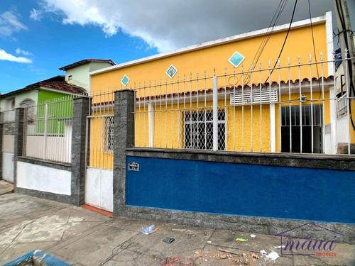 Imagem 1 de 25 de Casa Ideal Para Empresa Com 4 Dormitórios Para Alugar, 125 M² Por R$ 2.500/mês - Jardim Vinte E Cinco De Agosto - Duque De Caxias/rj - Ca0436