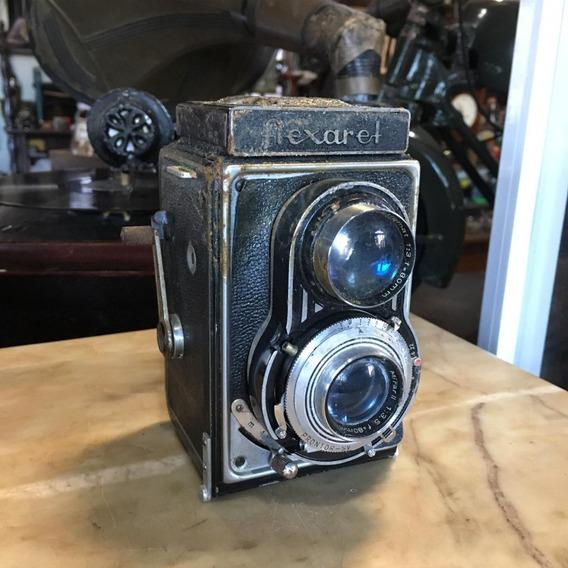 Câmera Antiga Flexaret Anos 40 50 Fotografia Filme 200