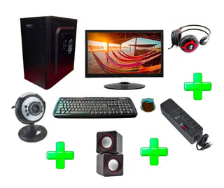Computador Intel Dual Core 1000gb 4gb Monitor Led Accesorios