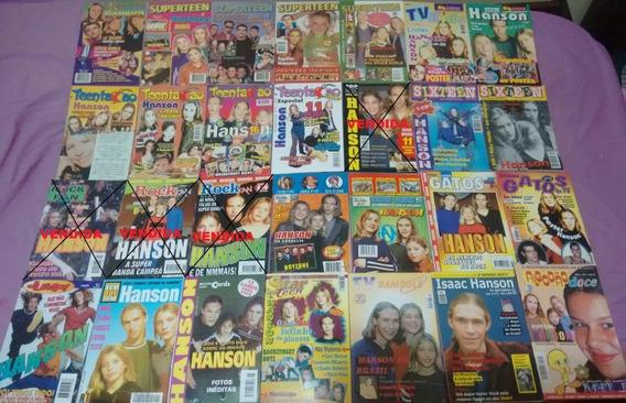 Hanson: Kit Com 24 Revistas Pequenas - [1997 - 1998] - Raras