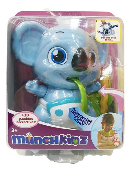 Munchkinz Mascota Interactiva C/sonidos Int 51556 Original