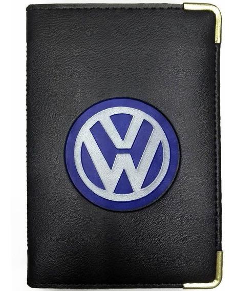 Carteira Porta Documento Carro Veículo Cnh Rg Volkswagen