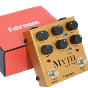 Pedal Fuhrmann Myth Of Tones, 2 Canais, Overdrive Distortion