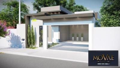 Casa 3 Dormitórios 109m² - Residencial Esperança - Caçapava - Ca3968