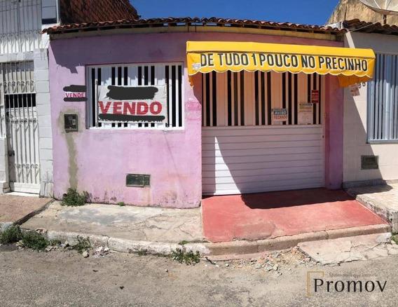 Casa Com 2 Dormitórios À Venda, 1 M² Por R$ 210.000 - José Conrado De Araújo - Aracaju/se - Ca0565