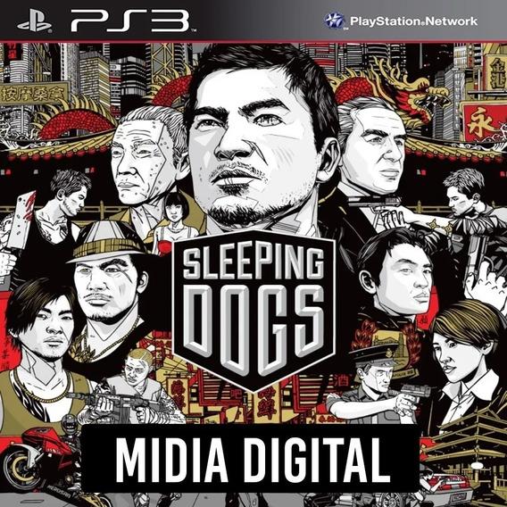 Sleeping Dogs Ps3 Midia Digital