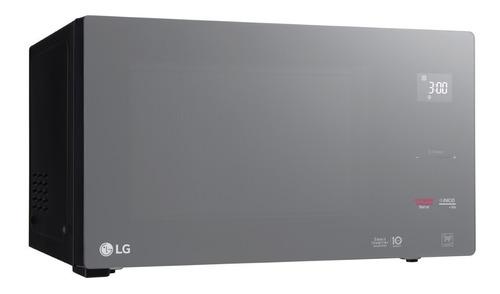 Microondas LG Mh8298dir Inverter 42 Lts 1200 W Espejado
