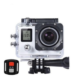 Camera Filmadora Wifi 4k+controle Sports Hd 1080p Action Cam