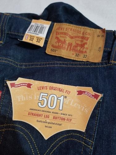 Pantalon De Mezclilla Para Hombre Levis Original 501 Mercado Libre