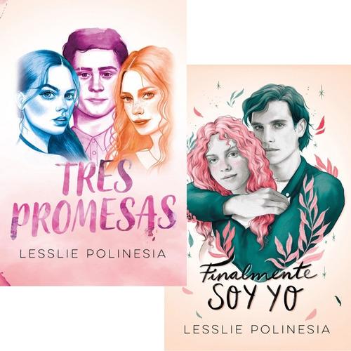 Pack Lesslie Polinesia - Tres Promesas + Finalmente Soy Yo