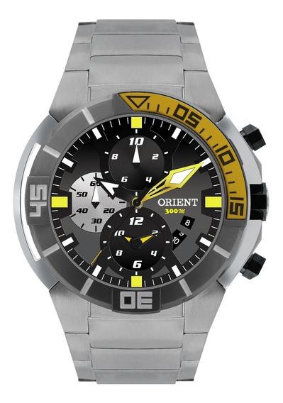 Relógio Orient Masculino Seatech Scuba Titanium Mbttc003