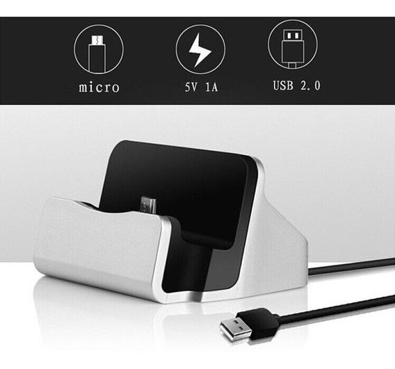 Dock Station Carrega E Sincroniza Android Micro Usb