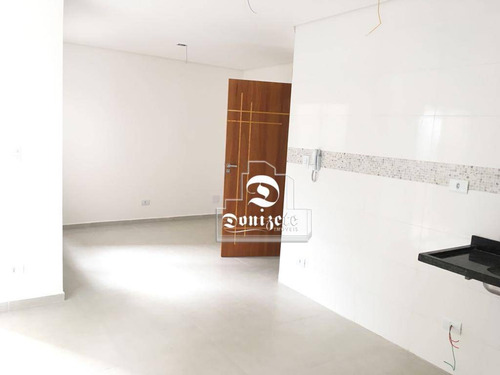 Cobertura À Venda, 140 M² Por R$ 450.000,00 - Parque Das Nações - Santo André/sp - Co11723