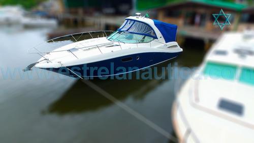 Lancha Sea Ray 35 Barco Iate N Azimut Fishing Intermarine