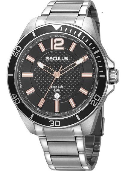 Relógio Seculus Masculino 77036g0svna3