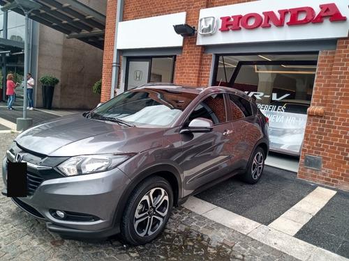 Honda Hr-v Exl At, 2018, Gris O, 65000kms