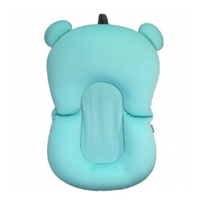 Almofada De Banho Para Bebê Azul Buba Baby