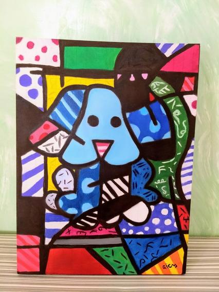 Quadro Decorativo - Painel 30x40 - Tinta A Óleo.