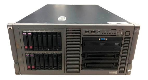 Servidor Hp Ml370 G5 2 Xeon Quad Core 32gb Hd 1.9tb Ssd