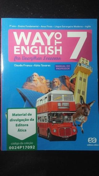 Livro - Way To English 7° Ano Manual Do Professor