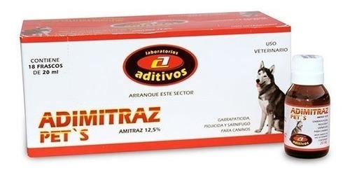 Antiparasitario Externo Canino Y Ambiental Adimitraz 20ml