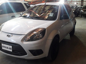 Ford Ka Fly Plus 2014 Blanco Usado