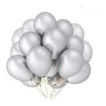 Globos #9 Metálico Bolsa 15 Pzas Tilcoballoons Calidad Helio