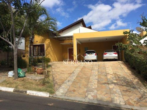 Casa Com 3 Dormitórios À Venda, 250 M² Por R$ 1.700.000,00 - Condomínio Terras De Vinhedo - Vinhedo/sp - Ca0262