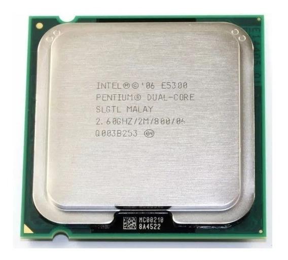 Processador Pentium Dual Core E5300 2.6ghz 2mb 800, 775