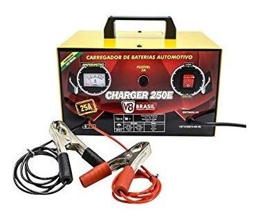 Carregador Baterias Charger 250e 25 A Bi Volt 110v/220v