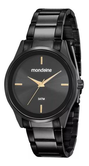 Relógio Mondaine Feminino 53578lpmgpe4 Preto