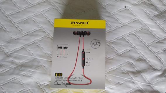 Fone Sem Fio Bluetooth Awei T11 (só Funciona 1 Lado)