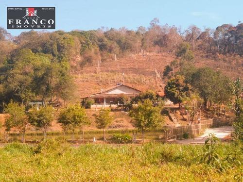 Chácara Com 2 Dormitórios À Venda, 19502 M² Por R$ 480.000,00 - Zona Rural - Pinhalzinho/sp - Ch0152