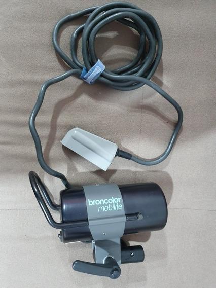 Tocha Broncolor Mobilite 1600j Original Com Lâmpada