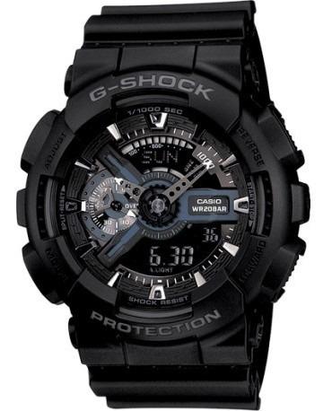 Relógio Casio G-shock - Ga-110-1bdr - Ótica Prigol