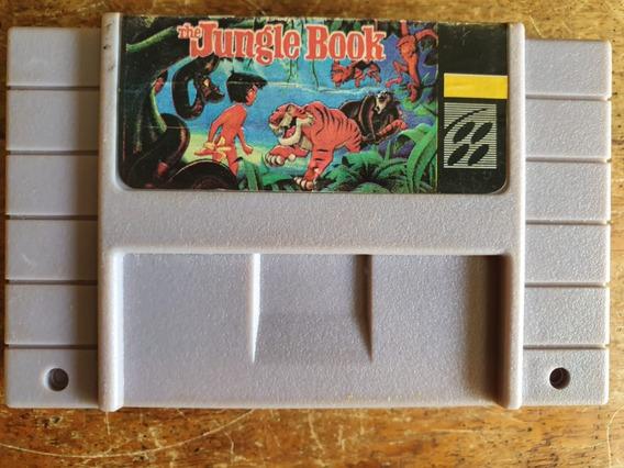 The Jungle Book Super Nintendo Snes