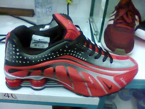 Tenis Nike Shox Neymar Jr Vermelho E Preto Nº40 Original!!!