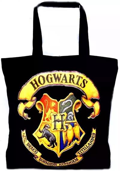 Bolsa Harry Potter Hogwarts Escola Bruxos Bruxaria Ecobag