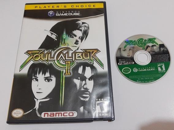 Game Cube: Soul Calibur Ii Completo + Extras!! Raríssimo!!