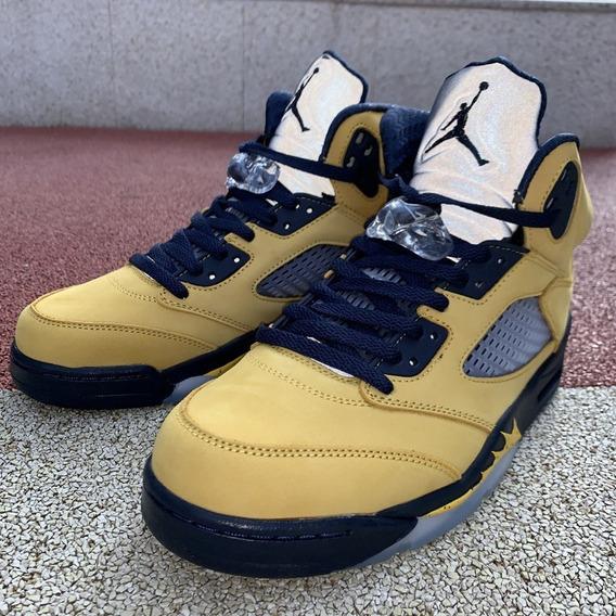 Jordan 5 Retro Michigan